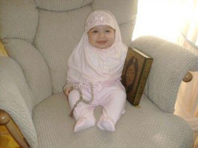 normal baby muslimah