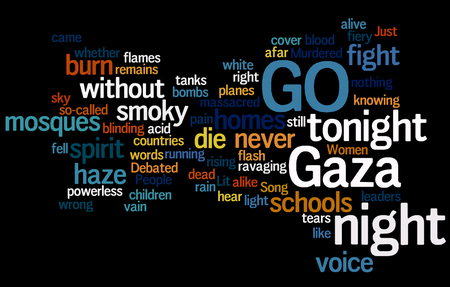 Gaza To Night By Michael Heart