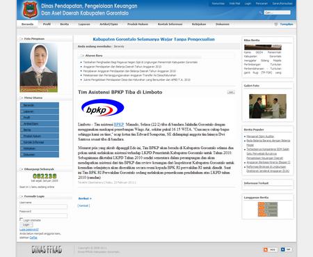 Dinas Pendapatan Pengelolaan Keuangan dan Aset Daerah Kabupaten Gorontalo - Tim Asistensi BPKP Tiba di Limboto 1298463324158
