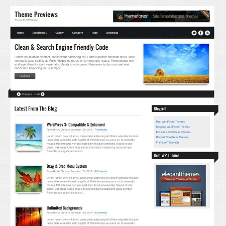 ribbons-wordpress-theme